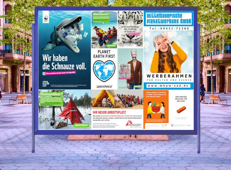 Mittelbayerische Plakatwerbung