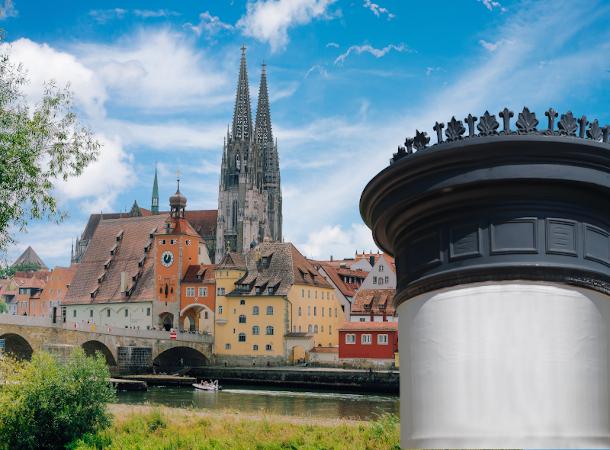 Kultursäulen Regensburg
