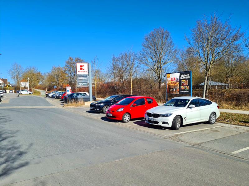 Altdorfer Str. - Am Ziegelanger Parkplatz Nord, links